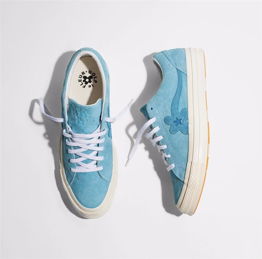 affcafcb9150 SUEDE ONE STAR OX TYLER THE CREATOR GOLF LE FLEUR BACHELOR BLUE ...