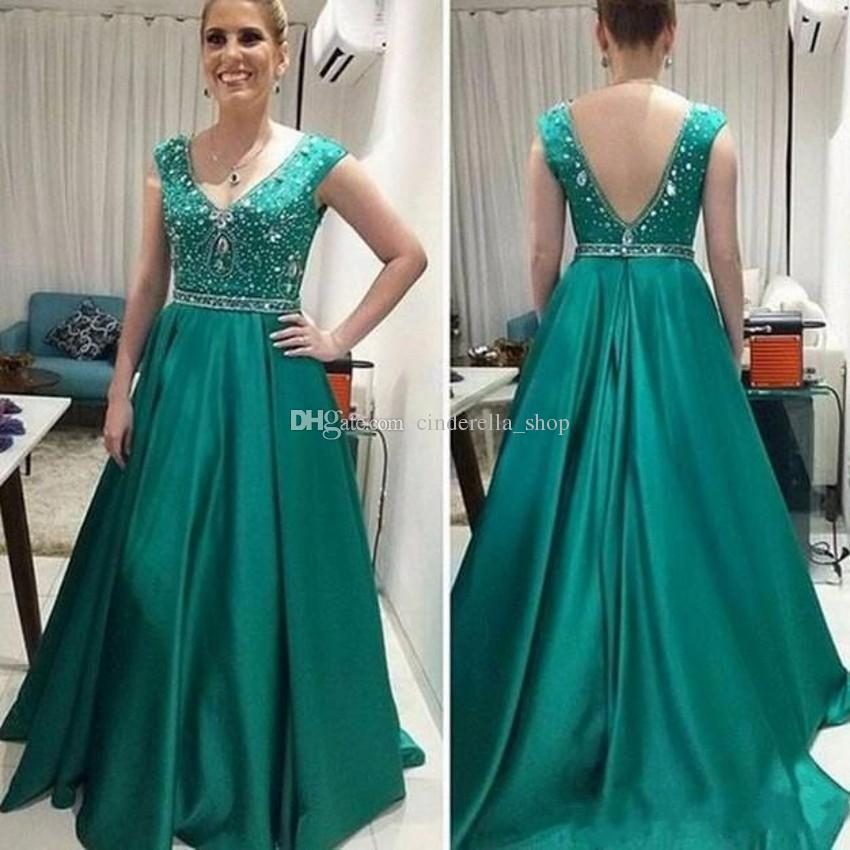 Green Mother of the Bride Dresses