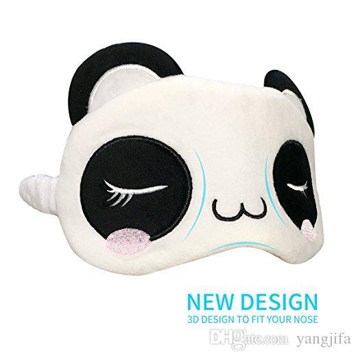 Toutes Et Douce Home Ajustable En Spa Avec Pour Les Positions La Masque Le SiesteMéditationVoyages Fonctionne Soie Sommeil Panda De LAj43R5