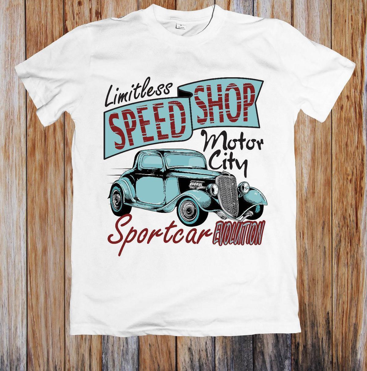 3e62aee7f LIMITLESS SPEED SHOP UNISEX T SHIRT Good Quality Brand Cotton Shirt Summer  Style Cool Shirts Offensive T Shirt T Shirt Slogan From Jie3