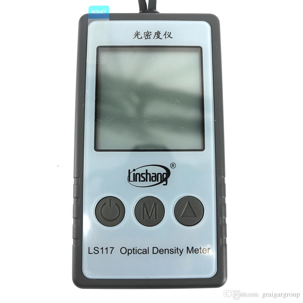 portable and high precision light transmittance meter LS117 Optical Density Meter measure densities up to 6.0 OD