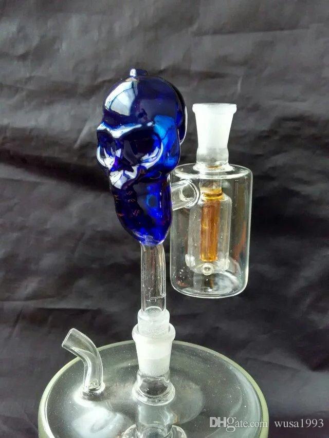 Кальян аксессуары [череп] вилка фильтры, цвет случайных доставки, аксессуары оптом из стекла кальян, стеклянные бонги аксессуары, бесплатная доставка,