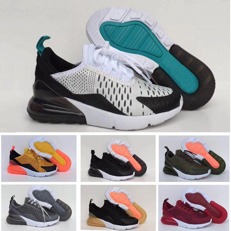 Großhandel Nike Air Max 270 27c Kinder 2018 Neue Ankunft Mens Schuhe