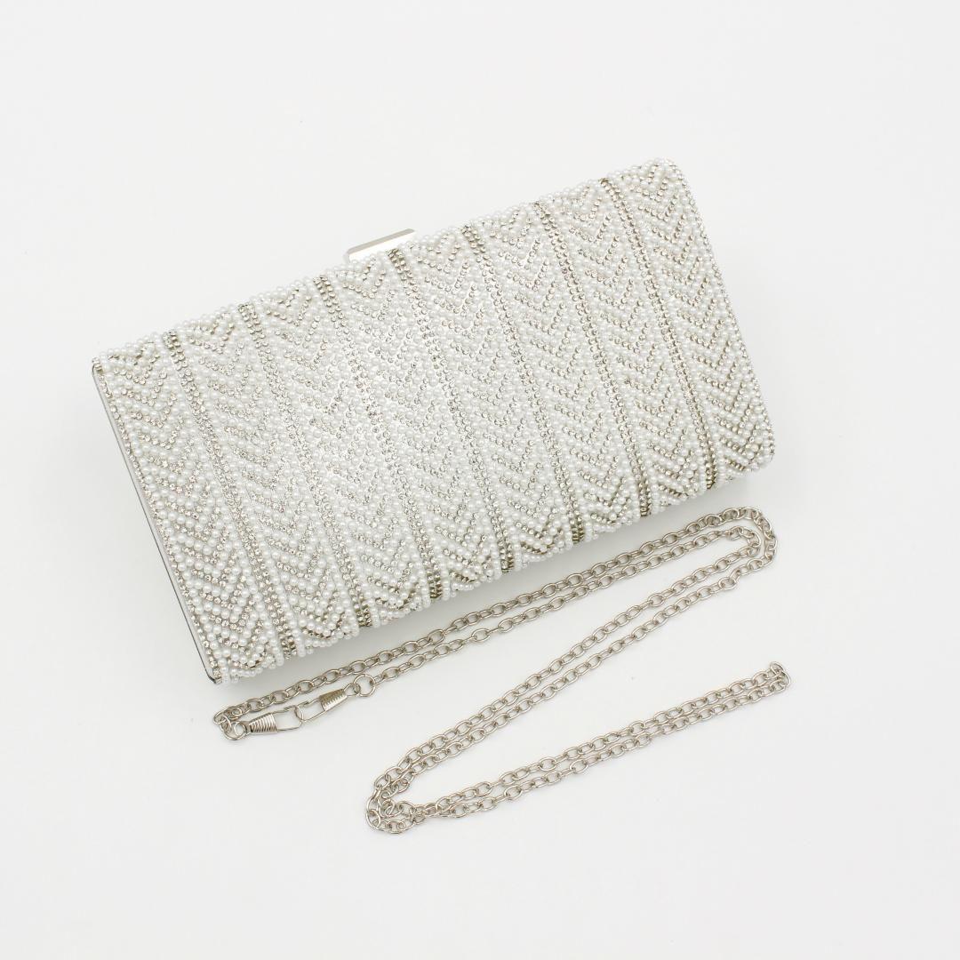 4c78704f MT 2018 New Trendy Luxury beaded with chain Clutch Bags Femal Small Mini  Purse Bag Classic Clutch Purse Women Evening handbag