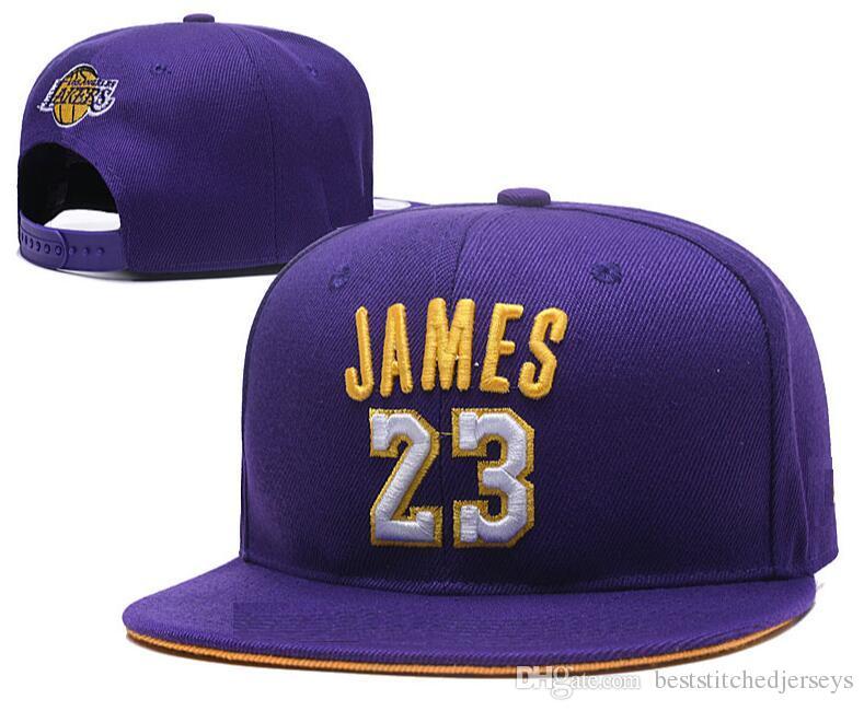 Compre Últimos 2018 2019 Lakers   23 James LAL Snapbacks Disponible Gorras  De Baloncesto Gorras A  5.53 Del Beststitchedjerseys  3ee68e0647c