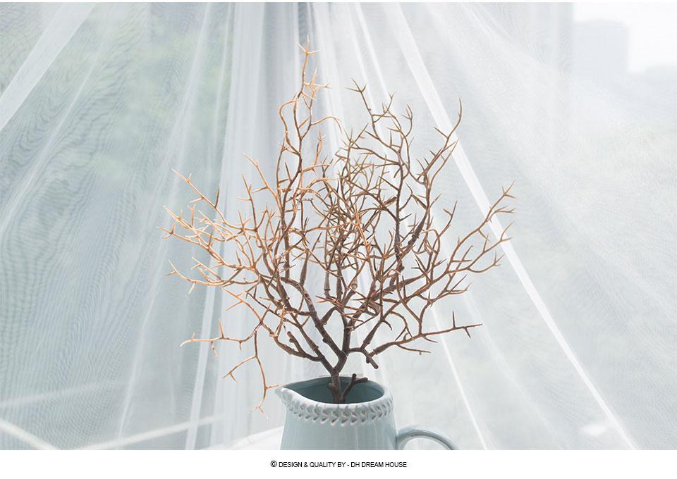 Grosshandel 2 Stucke Los Getrocknete Zweige Diy Kunstliche Pflanze
