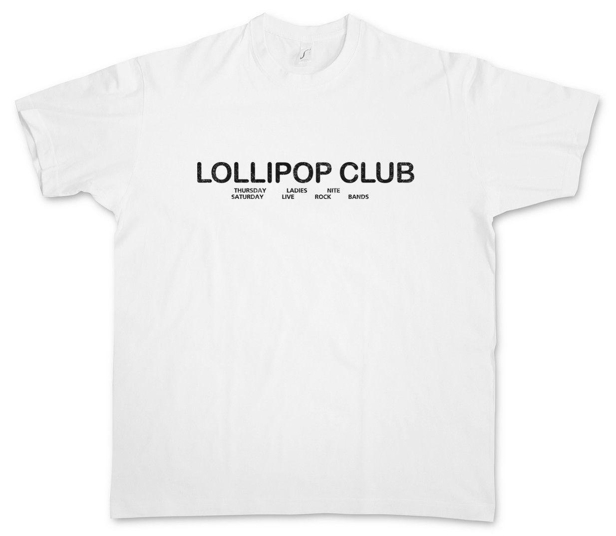 Lollipop Club T Shirt Sopranos Bar Restaurant Crazy Tony Horse Night