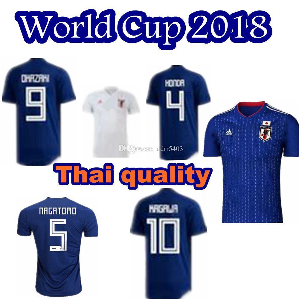 770d9b92ea4 Thai Quality 2018 World Cup Japan Soccer Jersey 18 19 Japan Home ...