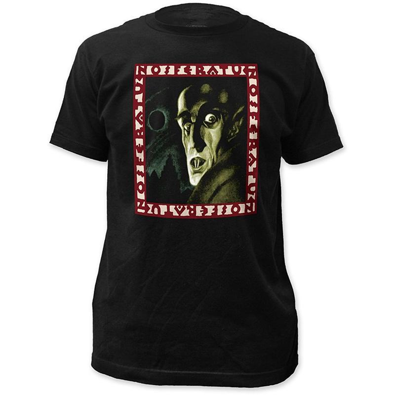Funny T Shirt Ideas Men S O-Neck Design Short Sleeve Nosferatu Symphony Of  Horror Print T Shirts