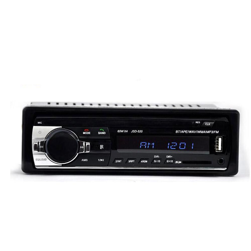 노스 캐롤라이나 autoradio 12V 자동차 라디오 블루투스 1 딘 자동차 스테레오 플레이어 전화 AUX-IN MP3 FM / USB / 라디오 원격 제어 전화 들어 자동차 오디오