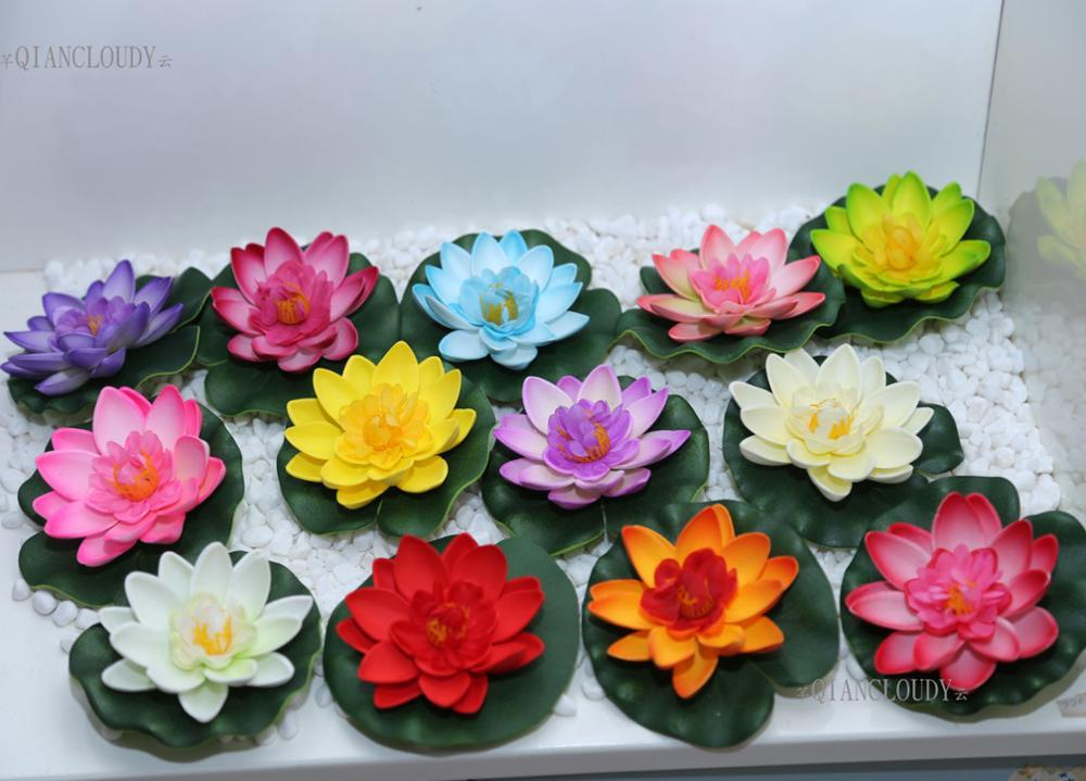 2018 plant decor retail artificial fake lotus flowers leaf pond 2018 plant decor retail artificial fake lotus flowers leaf pond flower water lily floating pool mariage flores plants wedding decoration b98 from mightylinksfo