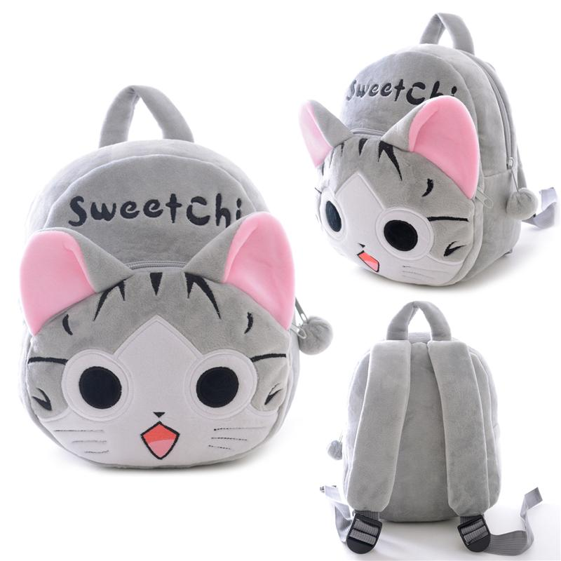 97232e8bf5 2019 Plush Cartoon Bags Kids Backpack Children School Bags Animal Cute For 1  3 Years Old Kindergarten Kids Girl From Lou88