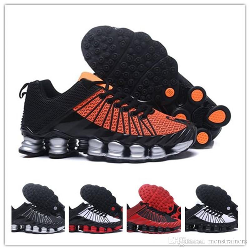 f101a267d3e5f8 Original Shox Tlx Mens Basketball Shoes Chaussures Homme Shox Tlx Men  Designers Sneakers Athletic Sport Men Trainers Sizes EU40 46 Running  Sneakers Racing ...