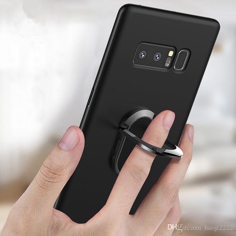 06bbe0dd86c Fundas Celulares Cajas Del Teléfono Para Samsung Galaxy Note 8   S8 Plus  Imán De Moda Car Holder Stand Cover Armadura A Prueba De Golpes Anillo De  Dedo ...