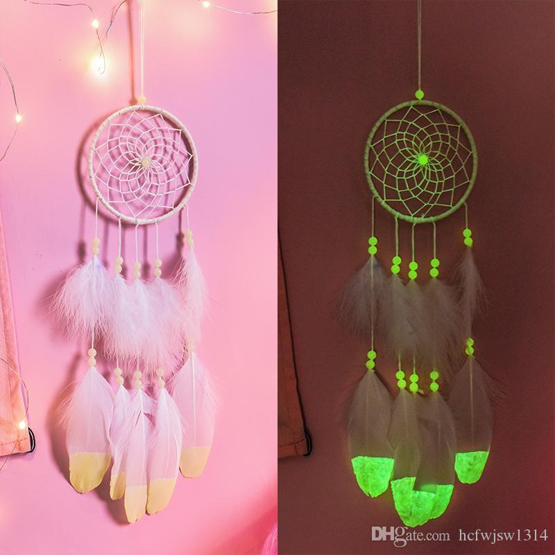 Индийские мечта ловители украшение колокольчики девушки сердце сети лес мечты творческих девушки спальня украшение комната кулон