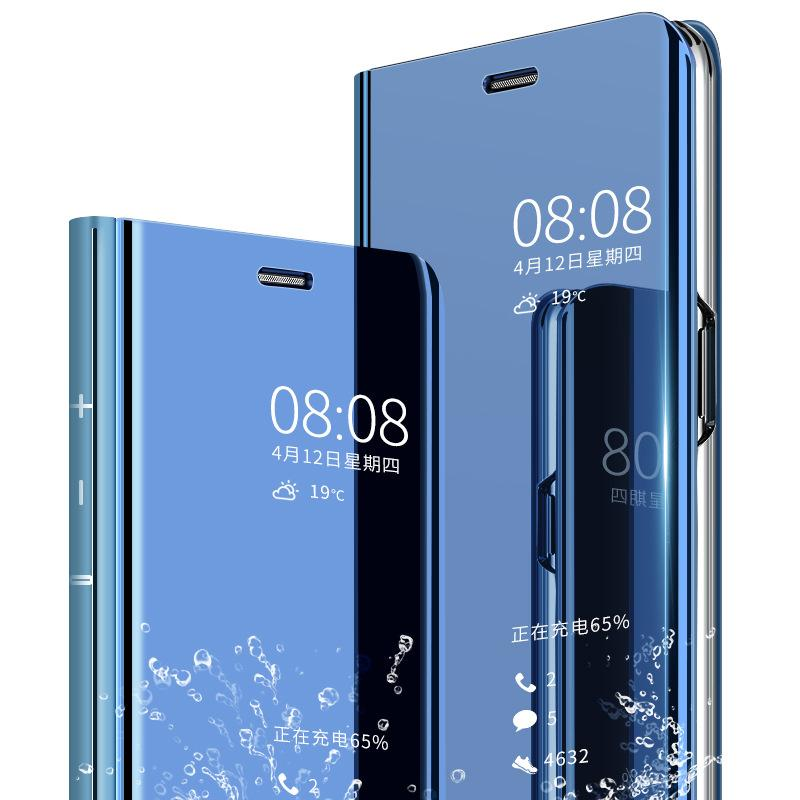 the best attitude d47f7 be52d 2018Mirror Clear View Flip Cover For Huawei P20 Pro P20 lite Mate 10 Pro  Full Smart Phone Case For Huawei P10 Plus P9 Honor 8 lite