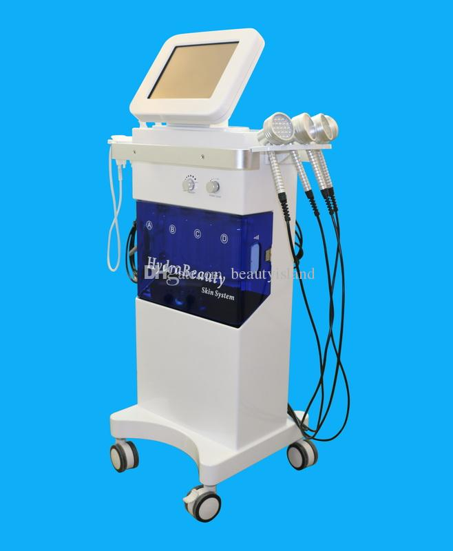 US Technology Hydrafacial PDT LED Light Therapy BIO Microcurrent Vacuum Pen Oxygen Spray Hydro Dermabrasion 5 IN 1 Hydra Facial Machine