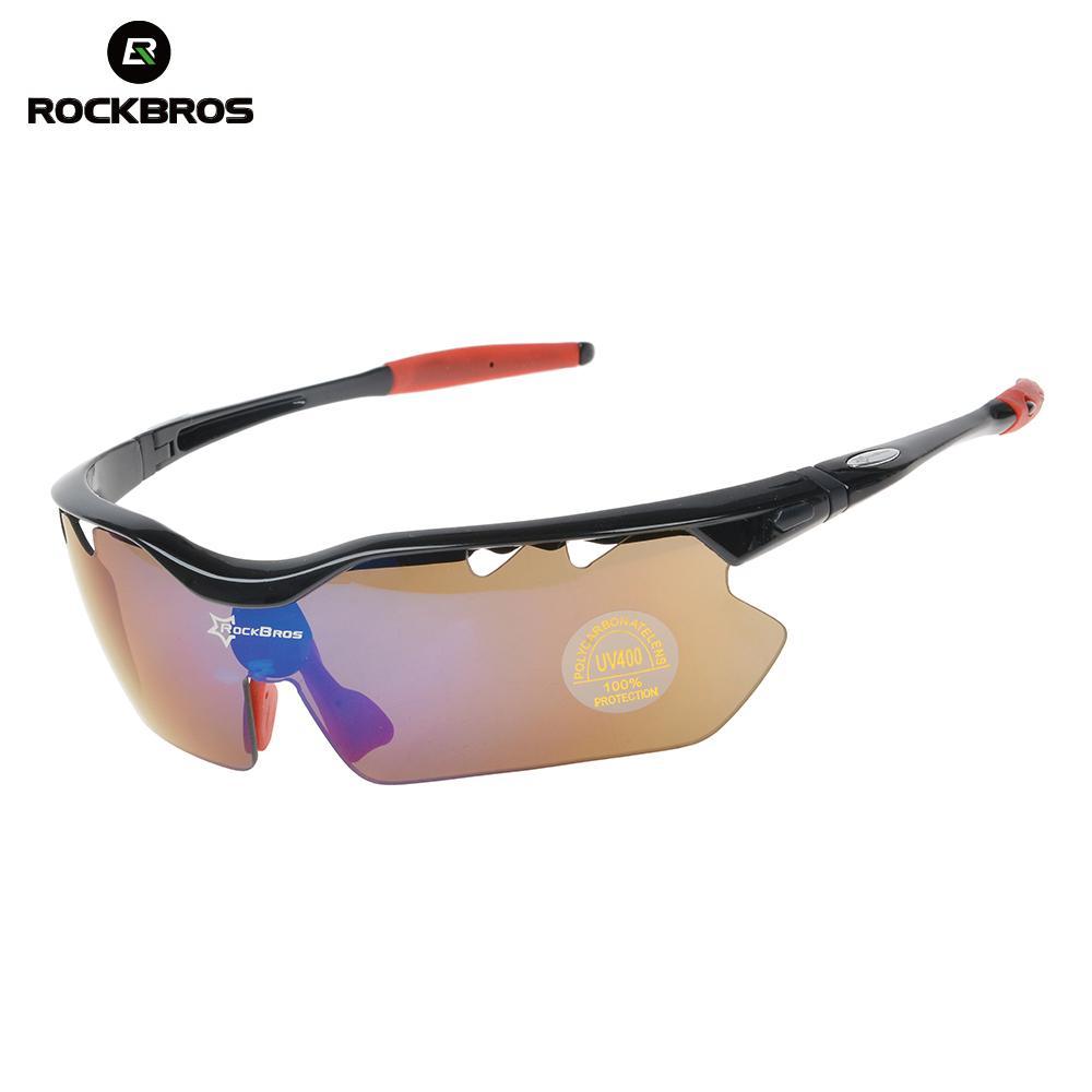 f828ebb0b17d7 Compre RockBros Ciclismo Polarizada Ciclismo Óculos De Sol Ao Ar Livre  Esportes Bicicleta Óculos De Bicicleta Da Condução Óculos De Sol TR90 Óculos  De ...