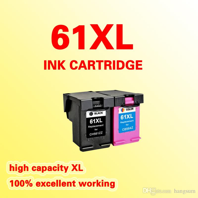 Replacement ink cartridge for HP61 HP61XL DeskJet 1050 2050 2050s 2510 3510 D1010 1510 2540 4500