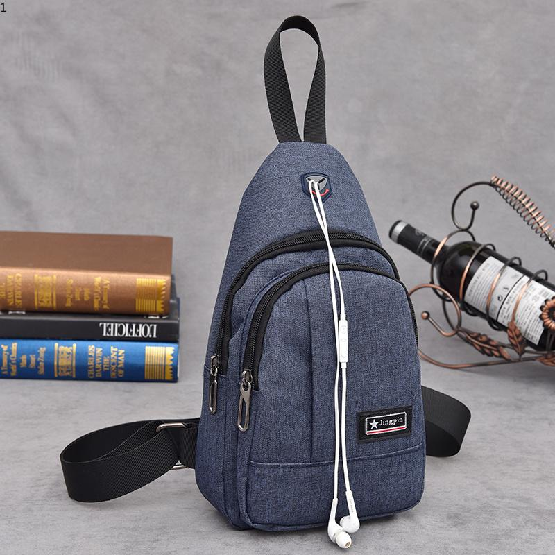 3128ad0356af Men Chest Bag Pack Nylon Waterproof Messenger Bag Luxury Designer Single  Shoulder Strap Pack For Male Fashion Cross Body Bag Tote Handbags Relic  Purses From ...