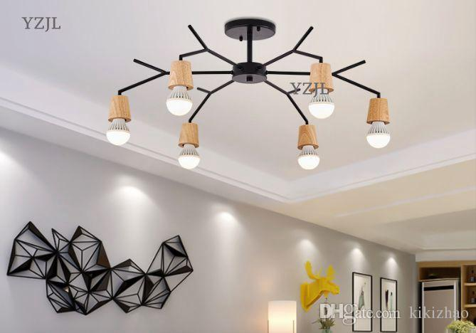 Acheter Nordic Creative Lighting Room Très Simple Lampe Moderne ...