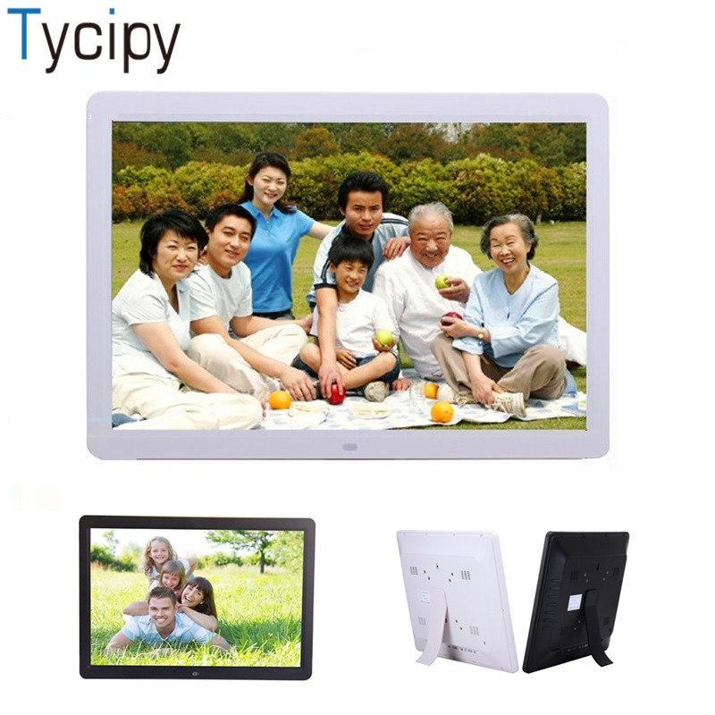 2018 Tycipy 15 Digital Photo Frame HD LED Electronic Double Sided ...