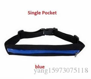 Ejecución de los deportistas Paquetes de la cintura invisible bolsa de deportes al aire libre Teléfono bolsa de viaje