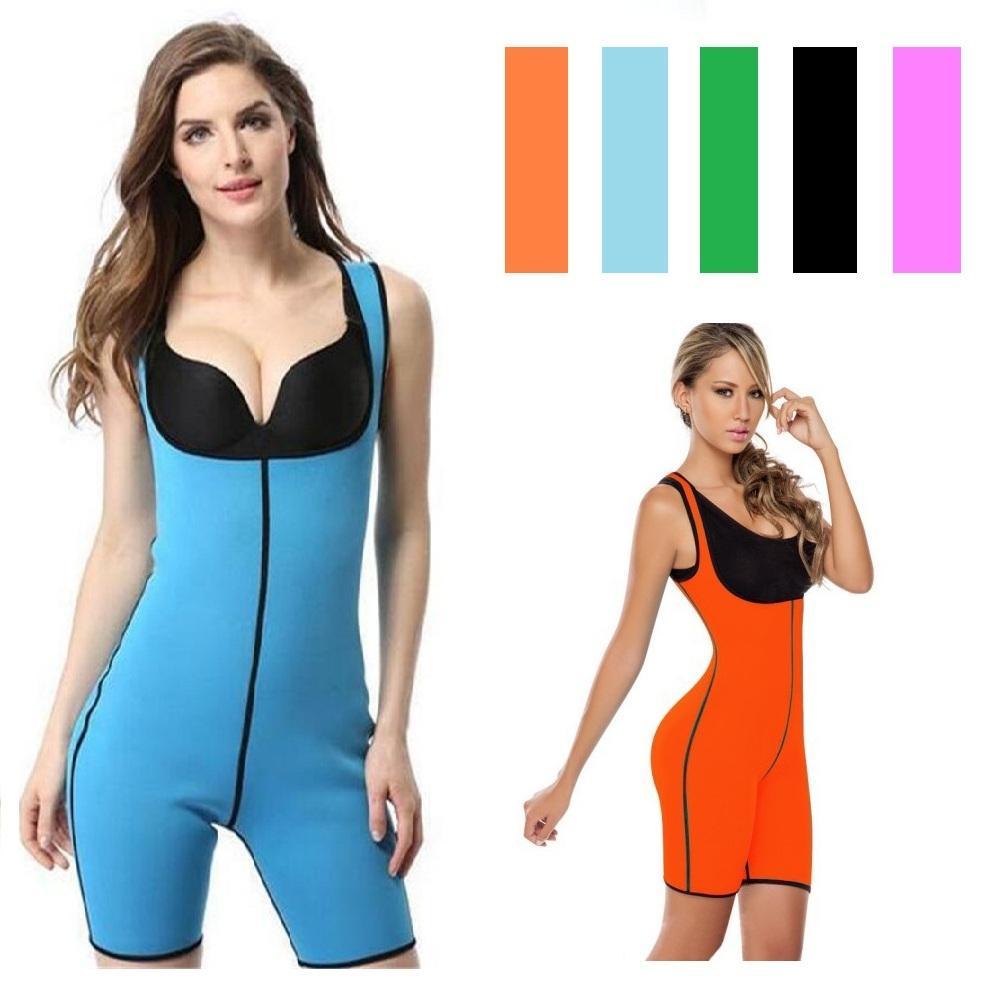 6b50c48cdb 2019 Hot Shaper Running Vest Jumpsuit Neoprene Sports Bodysuit Women  Underwear Waist Trainer Model Strap Shapewear Slimming Body Vest From  Hupiju