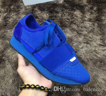 d3bafae2230ba 2018 Luxury Arena Sneaker Shoes Runner Red Mesh Balck Leather Kanye West  Race Runners Men S Walking Casual Trainers Party Dress Italian Shoes Cute  Shoes ...