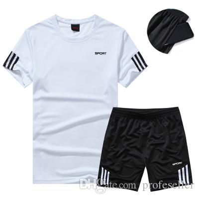 aa4136614 2019 Football Jerseys Sports Kit Kids Boys Soccer Sets Jersey Uniforms  Shirts Shorts Training Pants Suits From Profeseller, $13.2 | DHgate.Com