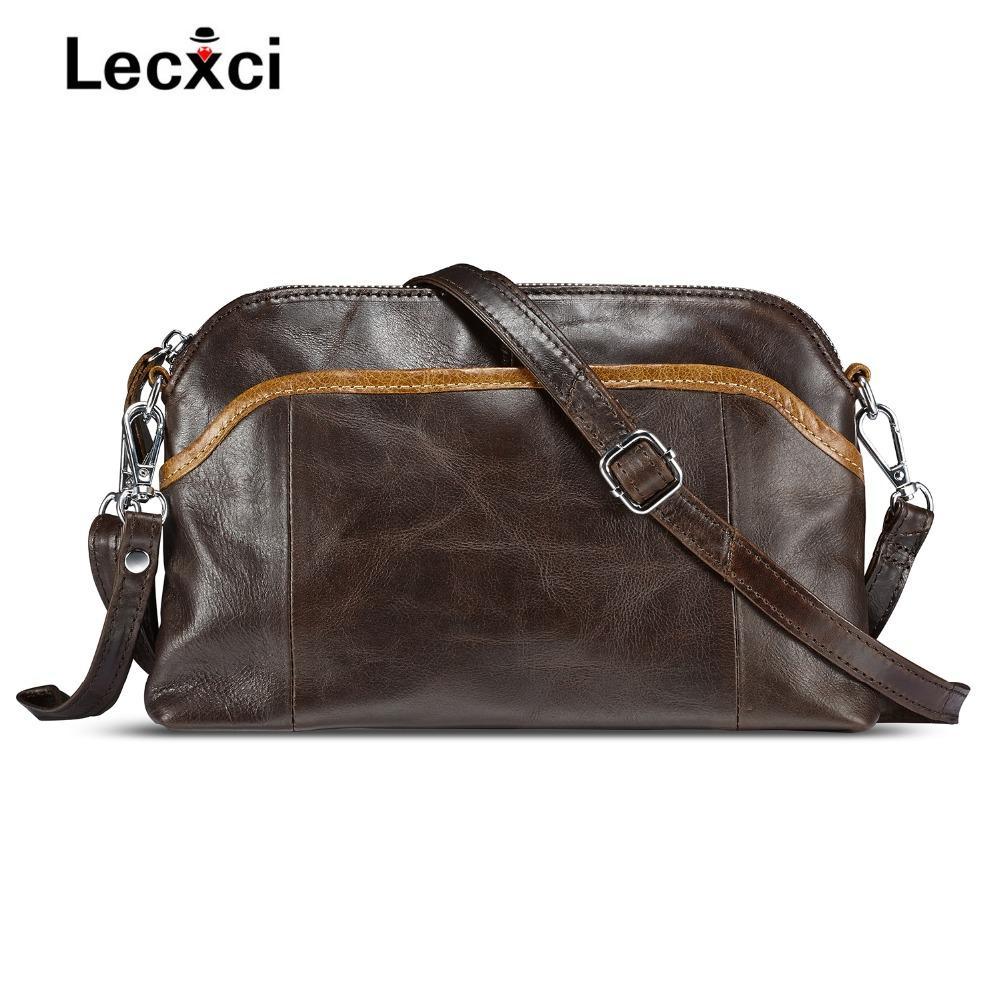 2018 Hot Sale Fashion Crossbody Bags For Women Soft Small Vintage Genuine Leather  Shoulder Bag Stitching Girl Of Handbag Travel Discount Designer Handbags ... 41ed982b8be04