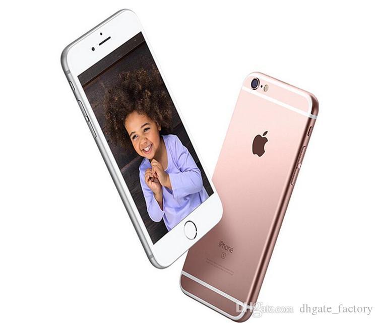 100% Orijinal 4.7 inç Apple iPhone 6 S Artı 12.0MP Kamera Ile 4 K Video iOS 9 Dokunmatik KIMLIK 4G LTE Unlocked Yenilenmiş Cep Telefonları DHL ücretsiz