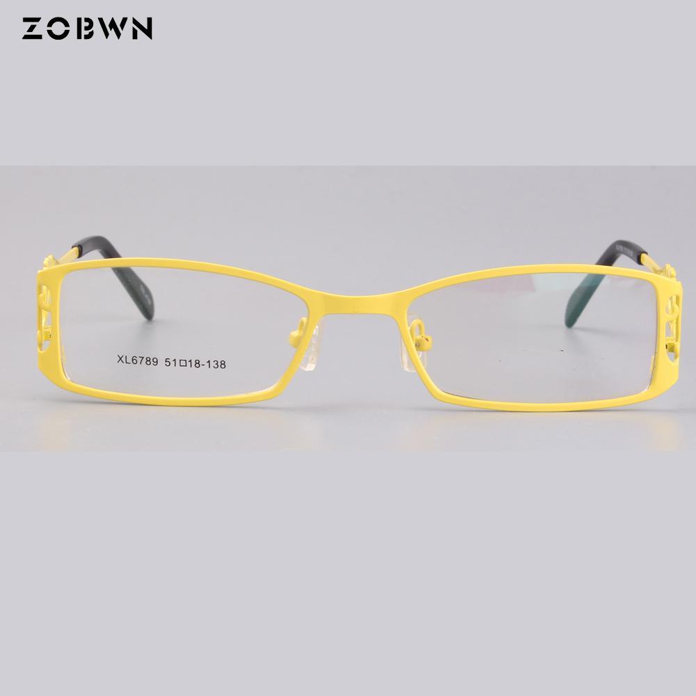 Acheter Zobwn Haute Qualité Chat Oeil Lunettes Cadre Femmes Cadre Points Hommes  Optique Lunettes En Gros Oculos Marcas Oculos Grau Feminino De  28.51 Du ... 6c0c7735df88
