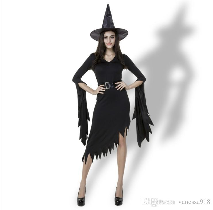 New Design Fashion Adult Womens Ladies Sexy Vampire Witch Dress