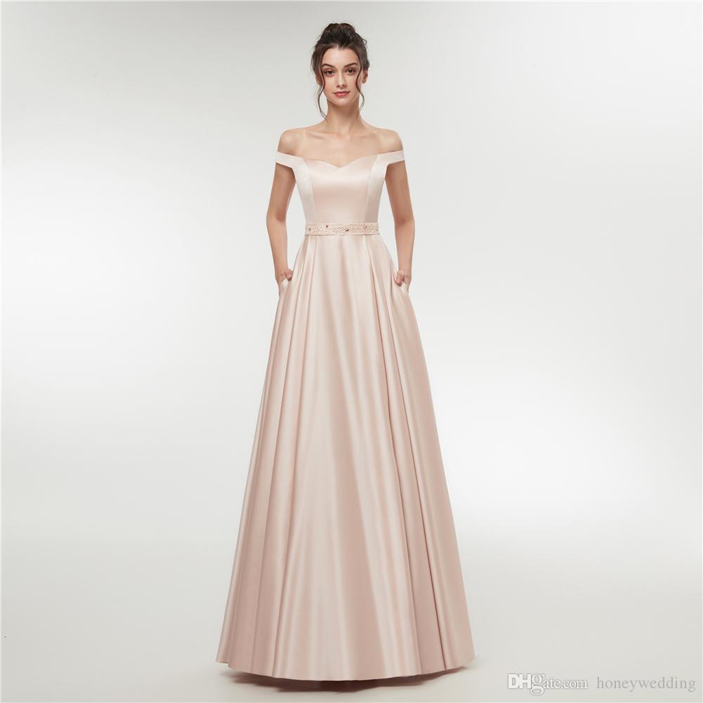 Lange Abendkleider 2018 Neue Formale Abendkleid Kleider Perlen Günstige Damen Kleider Für Besondere Anlässe Abendgarderobe