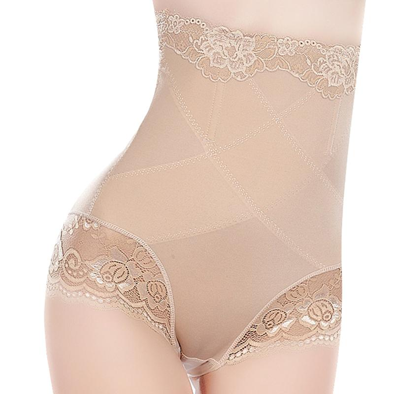 33c2a0d512 2019 Women High Waist Sexy Slimming Underwear Panties Shapewear Briefs Lady  Thin Abdomen Hips Lace Lingerie Body Shapers Corset From Geraldi