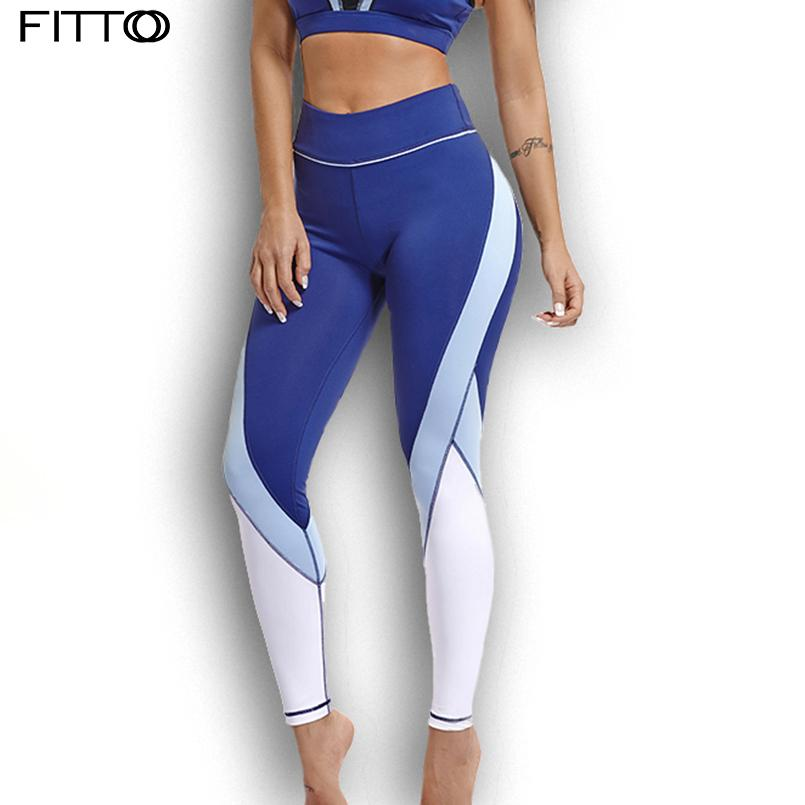 fd1d93e900684 2019 FITTOO Women Sexy Leggings Patchwork High Waist Elastic Pants Push Up  Woman For Fitness Legging Pants Clothing Sporting Leggins From  Enjoyweekend, ...