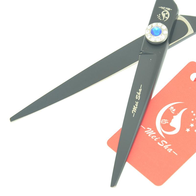 """Meisha 6.0"""" Painting Hair Cutting Thinning Shears High Quality 9CR Hairdressing Scissors with Diamond Screw Hairdressers Tijeras Kits HA0407"""