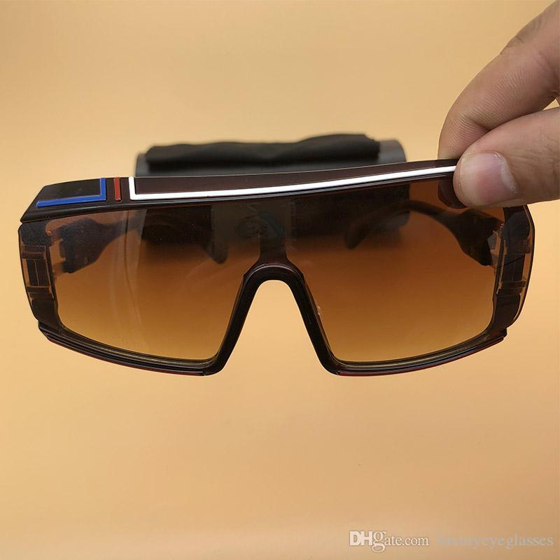 89a75978b8 Brown Sunglasses Oversized Eyewear Mens Womens Oversized Eyeglasses  Rectangle Big Frame Legends 2018 Summer Cycling Glasses 4023 John Lennon  Sunglasses ...