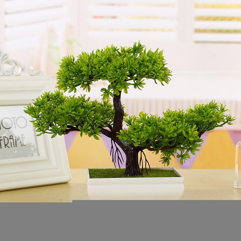Grosshandel Neue Mode Kunststoff Kunstliche Baum Pflanzen Keramik