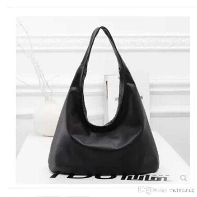 3fb1b097ec2 Cheap Long Handbags Women Best Black White Leather Patchwork Handbag