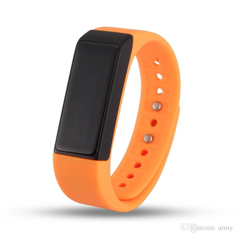 I5 Plus Bluetooth Smart Sports Bracelet Wireless Fitness Pedometer Activity Tracker with Steps Counter Sleep Monitoring Calories Track