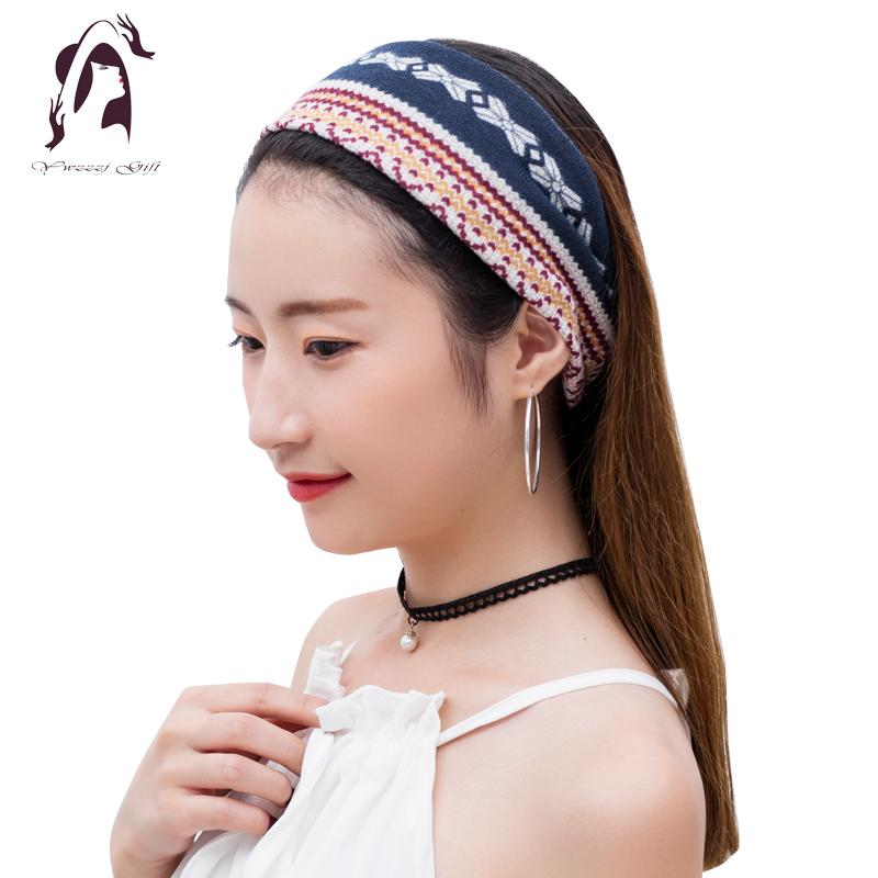 2018 2018 Winter Women Elastic Headband Cotton Print Warm Hair Accessories  Wide Hair Bands Accessories Headwear For Girls From Super03 7ce5f208924e