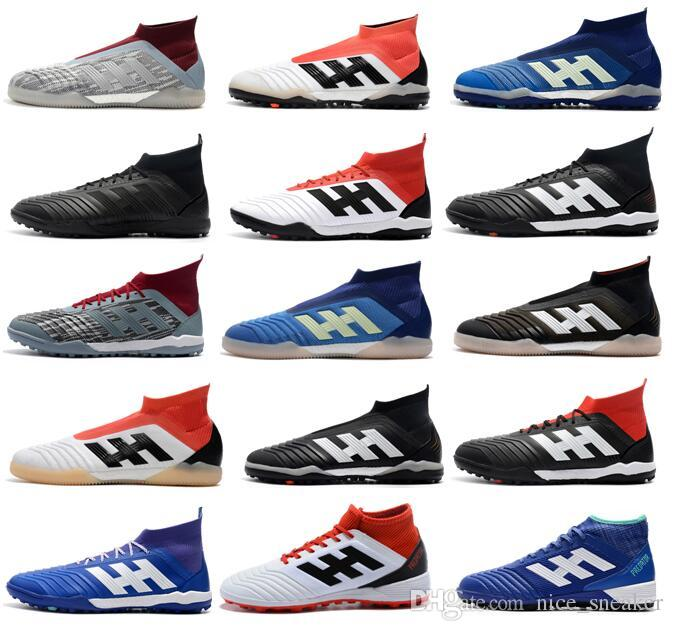new products 322ad a45ff 2018 New Cheapest Mens Football Boots PP Predator Tango 18 IC TF Soccer  Shoes Tango 18.3 ACE 17 Purecontrol Indoor Best Soccer Cleats