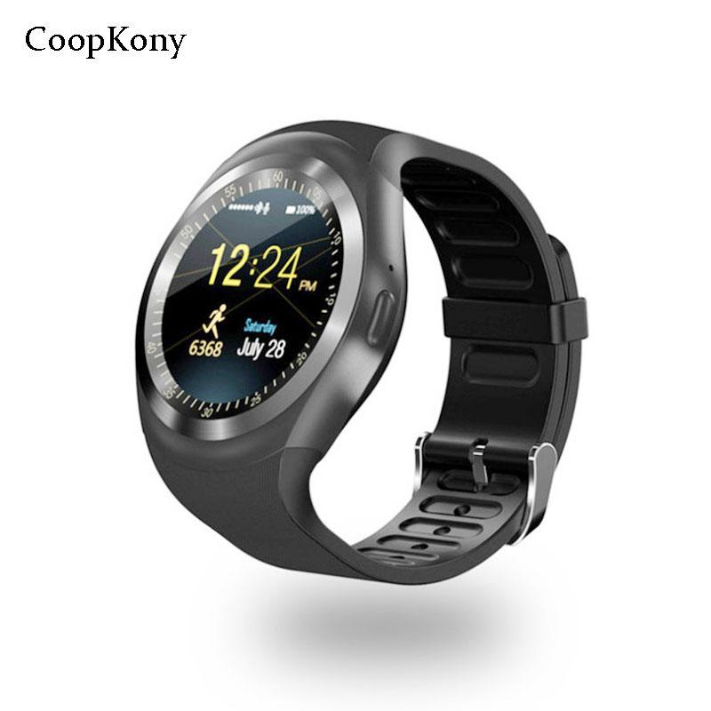 d6324ed35645 Relojes Moviles Coopkony Smart Watch Reloj Relogio Llamada Reloj 2G GSM SIM  Teléfono SmartWatch Para IOS Android Teléfonos Relojes Relojes Marcas Por  ...