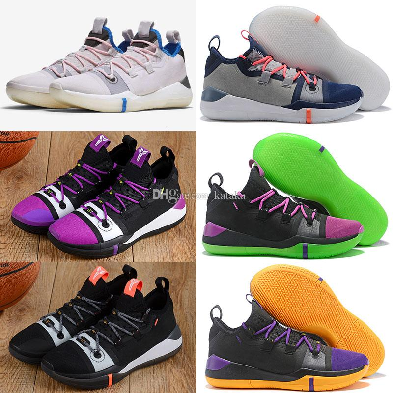 c1a36fe7980c ... low price kobe ad exodus purple lakers best quality kobe bryant a.d  2018 basketball shoes store