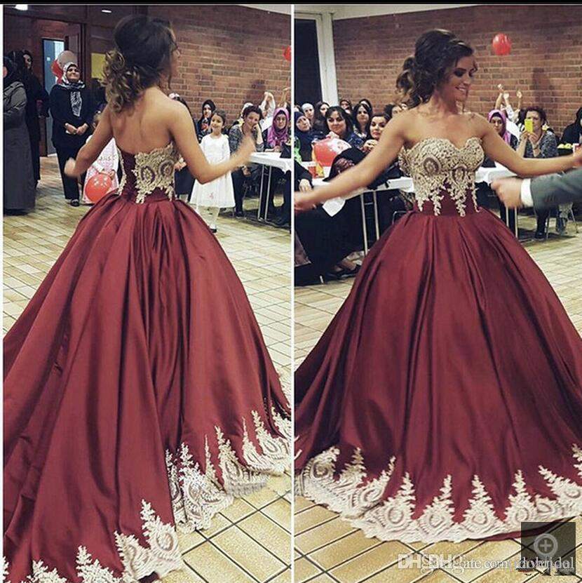 dbd21e6d5c Modest Quinceanera Dress 2018 Lace Applique Corset Masquerade Ball Prom Formal  Evening Wear Sweet 16 Dresses For 15 Years Plus Size Quinceanera Dresses ...