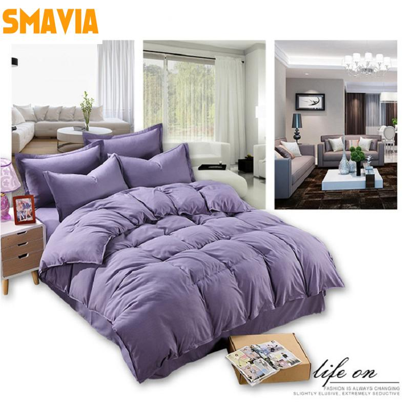 a4eab15c2264 SMAVIA Hot Sale 3/Bedding Sets Polyester Include Bed Sheet Pillowcase Duvet  Cover Sets For Twin/Double/Full/Queen/King Bedding Sale Sheet Sets From  Starch, ...