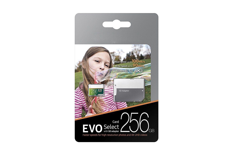 Best Selling 32GB 64GB 128GB 256GB 100MB / S TF Flash Memory Card Classe 10 Free SD Adaptador Varejo Blister Pacote Epacket DHL Free Shipking
