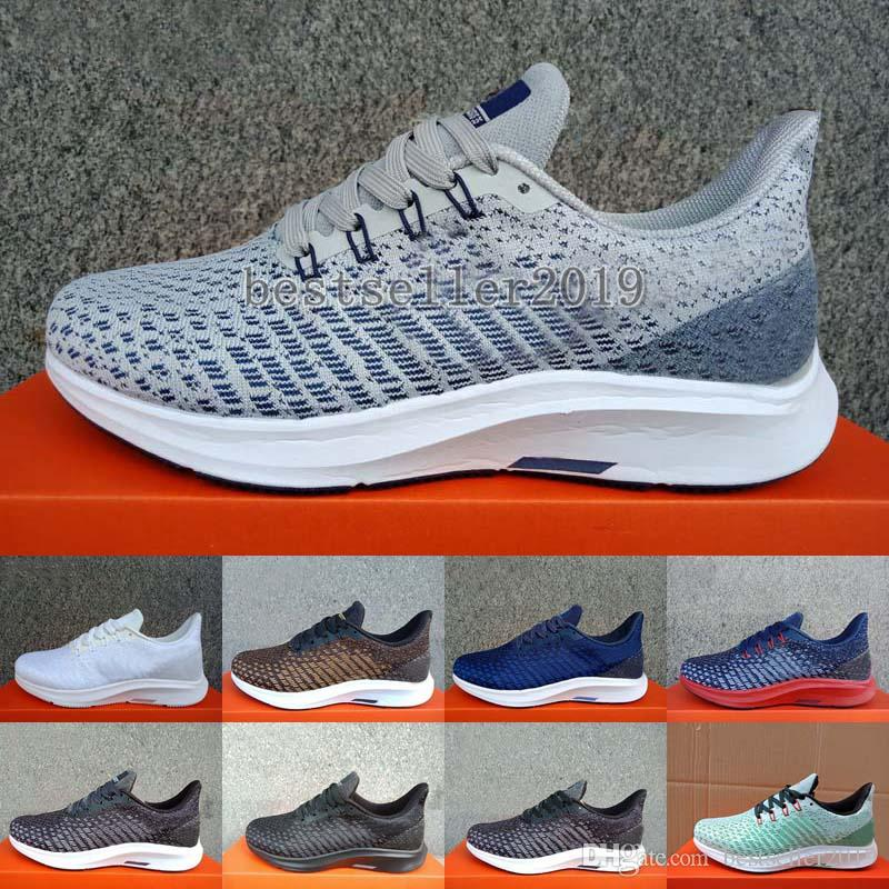 09b120c3414 2019 New Zoom Pegasus 35 Turbo Running Shoes Brand Luxury Designer Womens  Mens Trainers Sneakers Pegasus 35 Lining Net Gauze Zapatos 36 45 Latest  Shoes Top ...